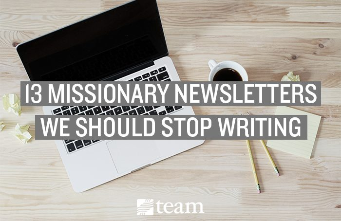 missionary newsletter how to