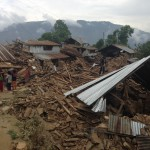 Villages, like this one a few hours outside Kathmandu, suffered the worst damage.