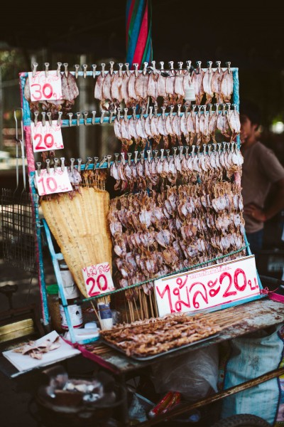 dried fish for sale in thailand