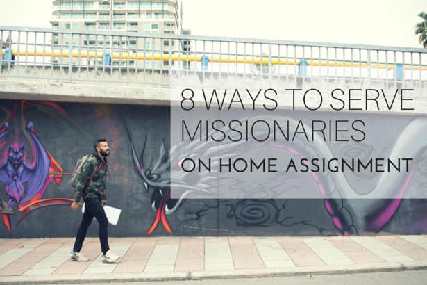 ways to serve missionaries autstralia
