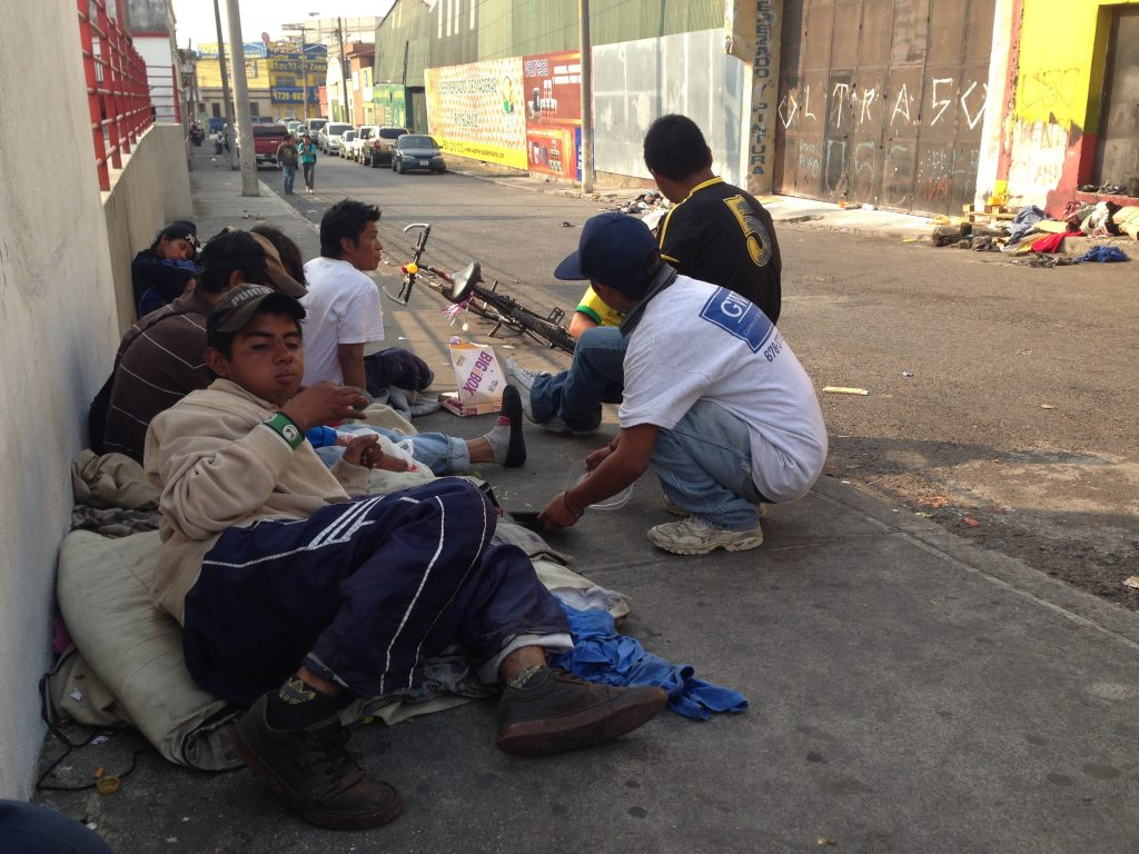 homeless ministry in guatemala