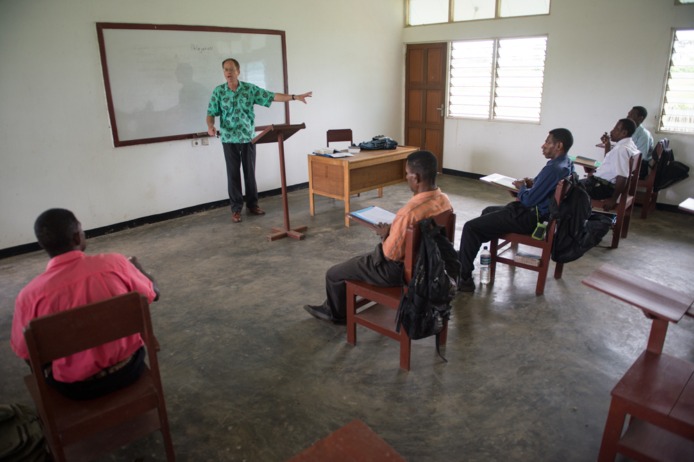 In Papua, a bible college