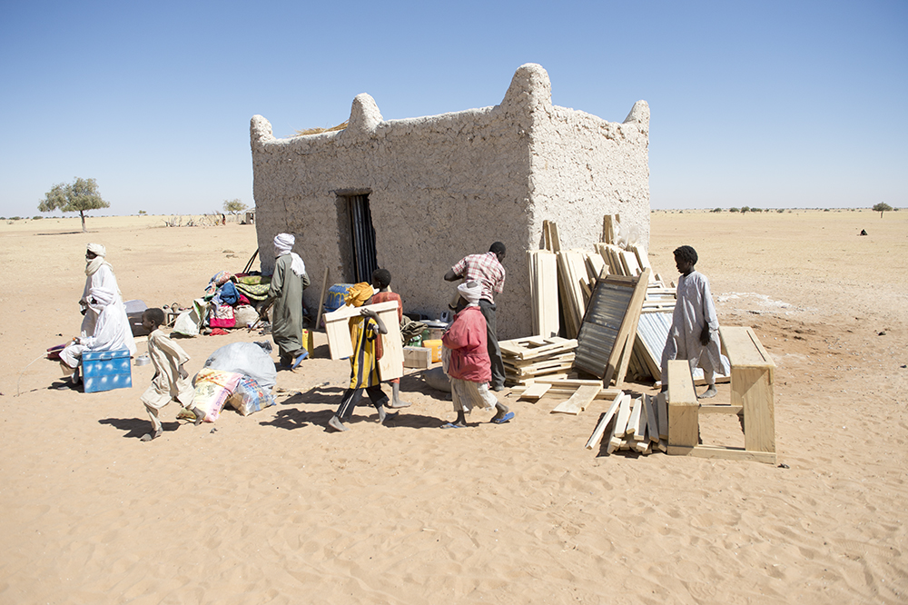 building new school in chad