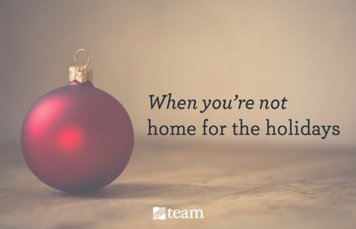 A Home For Christmas.The Truth About Being A Missionary At Christmas Team