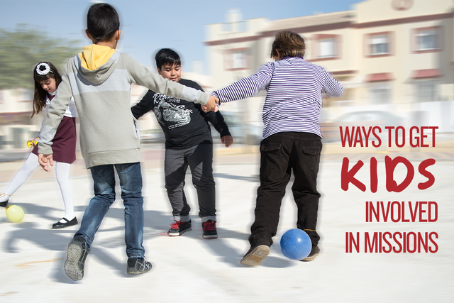 how to get kids involved in missions