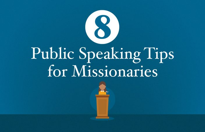 public speaking tips for missionaries