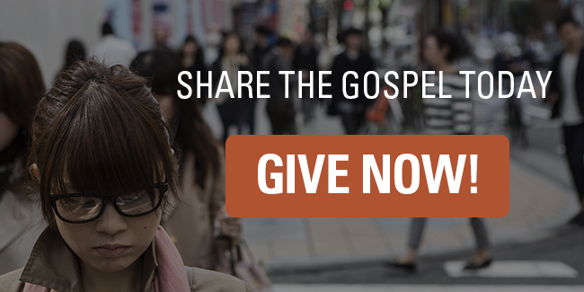 Share the Gospel today. Click here to give no!
