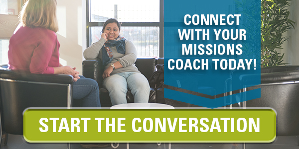 Connect with your missions coach today!