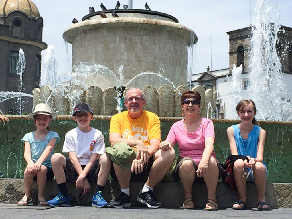 The grandchildren of missionaries get to spend time with their grandkids on their mission field in Mexico