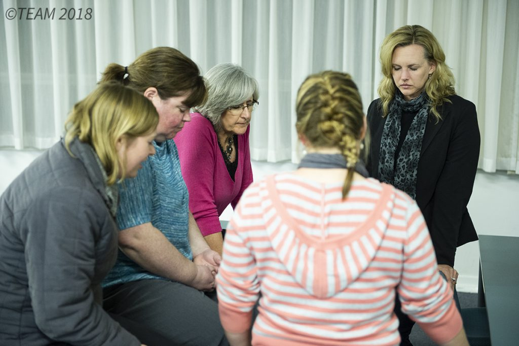 A group of women learn to rest in God's timing as they pray together.