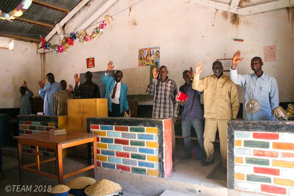 Church leaders in Africa wave goodbye