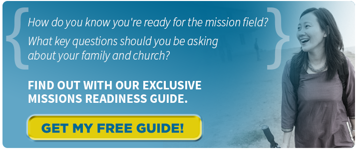 {How do you know you're ready for the mission field? What key questions should you be asking abut your family and church?} Find out with our exclusive missions readiness guide. Click to get your free guide
