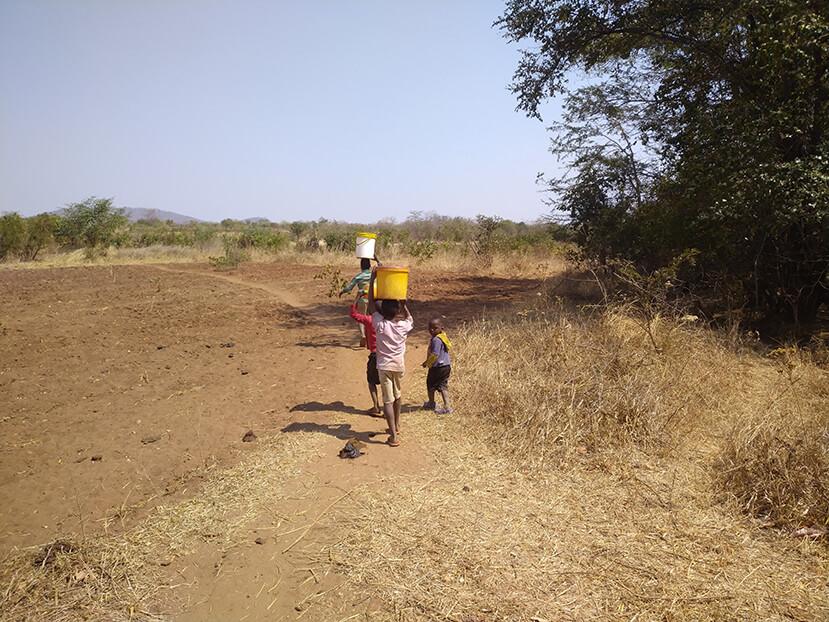 Village Well in Rural Zimbabwe