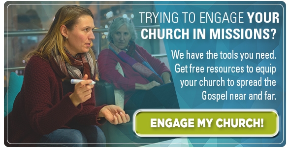 Trying to engage your church in missions? Click here for tools and resources created for congregations like yours!