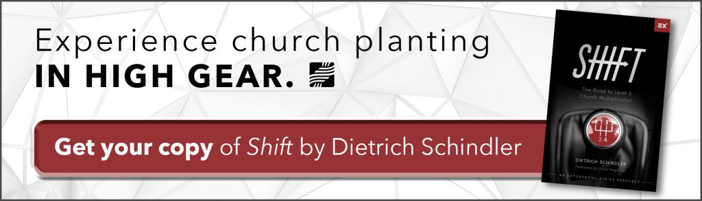 Experience church planting in high gear.