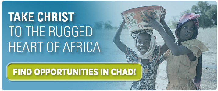 Take Christ to the rugged heart of Africa. Find missionary opportunities in Chad! Click here.