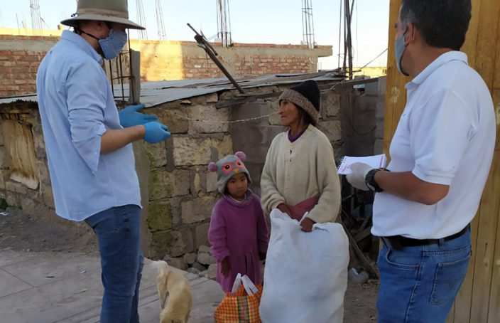 With limited internet access, one Peruvian church has had to think differently about how to do church during an ongoing pandemic.