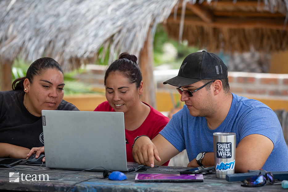 Gaby runs the high school education program at the ranch, helping young adults finish their diplomas and pointing them to Christ.